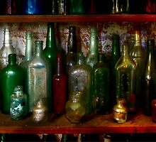 The bottle collection ~ Monte Cristo, Junee NSW by Rosalie Dale