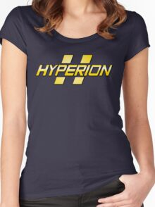 Hyperion Corporation Logo Women's Fitted Scoop T-Shirt