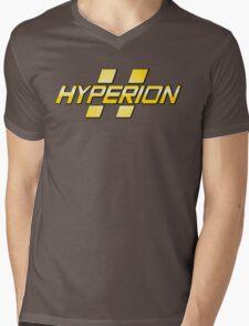 Hyperion Corporation Logo Mens V-Neck T-Shirt