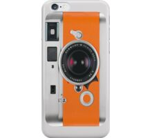 Camera Orange iPhone Case/Skin