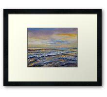 Shores of Heaven Framed Print