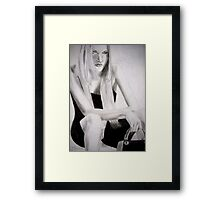 ... GOT TIRED ! Framed Print