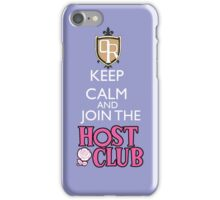 Ouran high scool host club iPhone Case/Skin