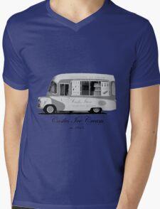 Castles Ice Cream est. 1843 Mens V-Neck T-Shirt