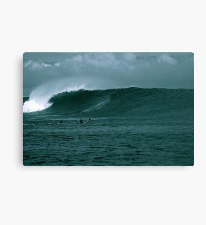 CloudBreak wave goes unridden Canvas Print