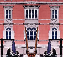 Reflection with affection of Trieste by pixsellpix