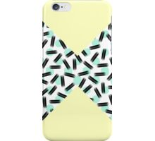 Yellow Color Block, Dots, & Brushstrokes iPhone Case/Skin