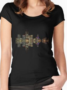 Brisbane Skyline Women's Fitted Scoop T-Shirt