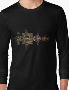 Brisbane Skyline Long Sleeve T-Shirt