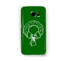 Vintage Green Christmas Wreath with Ribbon Samsung Galaxy Case/Skin