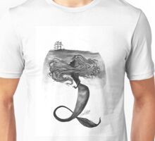 Watchful Mermaid  Unisex T-Shirt