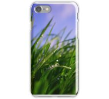 Grastropfen iPhone Case/Skin