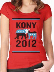 """Joseph Kony T-shirt"" Original Style T-Shirt Kony 2012 Women's Fitted Scoop T-Shirt"