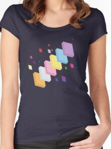 My Little Pony - Mane Six Abstraction II Women's Fitted Scoop T-Shirt