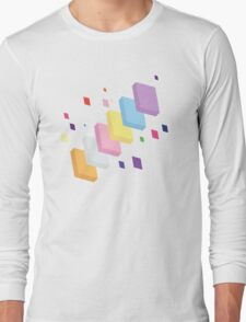 My Little Pony - Mane Six Abstraction II Long Sleeve T-Shirt