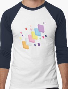My Little Pony - Mane Six Abstraction II Men's Baseball ¾ T-Shirt