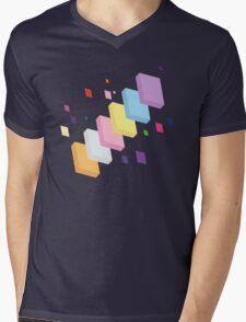 My Little Pony - Mane Six Abstraction II Mens V-Neck T-Shirt