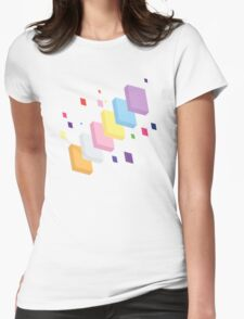 My Little Pony - Mane Six Abstraction II Womens Fitted T-Shirt