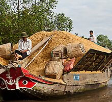 Rice boat  by Janette Anderson