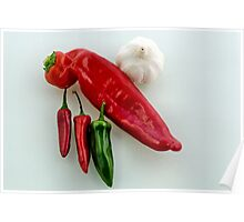 Chilli n Garlic Poster
