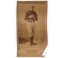 Benjamin K Edwards Collection Mike Tiernan New York Giants baseball card portrait 003 Poster