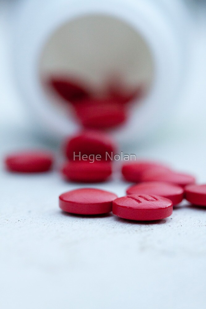 little red pills by Hege Nolan