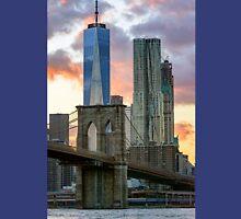 Fall Sunset Downtown New York Unisex T-Shirt