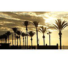 Tenerife sunset :)  Photographic Print
