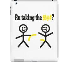 Ru Taking The $!@# ?  iPad Case/Skin