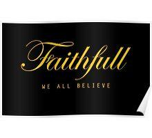 Faithfull Poster