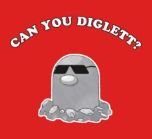 Can You Diglett? Kids Clothes