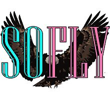So Fly Eagle Pink Teal by Four4Life