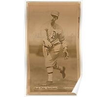 Benjamin K Edwards Collection Joe Bush Philadelphia Athletics baseball card portrait Poster