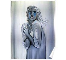 Blue tears - las lágrimas azules Poster