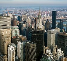 Midtown Manhattan by Randy  LeMoine