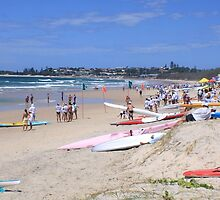 slsc nsw state titles ..kingscliff  by gail woodbury
