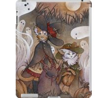 The Gathering - Kitten Witch Ghost Halloween iPad Case/Skin