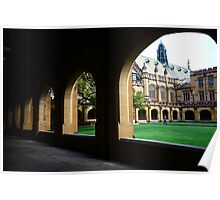 Intellectual Arches Poster