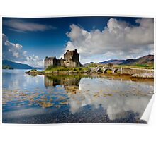 Scotland: Eilean Donan Sunshine Poster