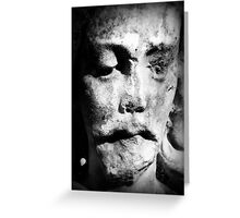 Statue of Christ Greeting Card