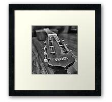 Yamaha Acoustic Framed Print