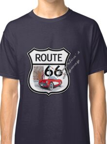 Route 66 vintage stylist america highway gifts Classic T-Shirt