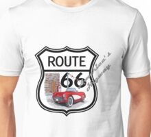 Route 66 vintage stylist america highway gifts Unisex T-Shirt