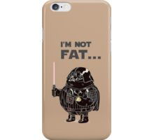 The NOT Fat Vader iPhone Case/Skin