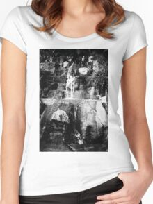 Still Water 03 Women's Fitted Scoop T-Shirt