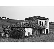 Abandoned old house Photographic Print