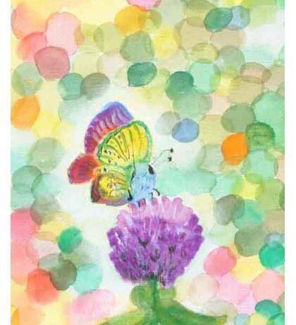 Bokeh Butterfly Sticker
