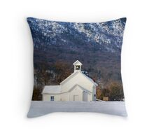 Page Valley Baptist Church Throw Pillow