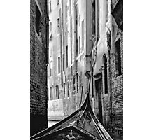 Back Street Gondola Photographic Print