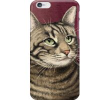 Tabby cat iPhone Case/Skin